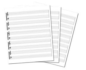 le copiste partitions gravure musicale d p t sacem song book dition de partitions score. Black Bedroom Furniture Sets. Home Design Ideas